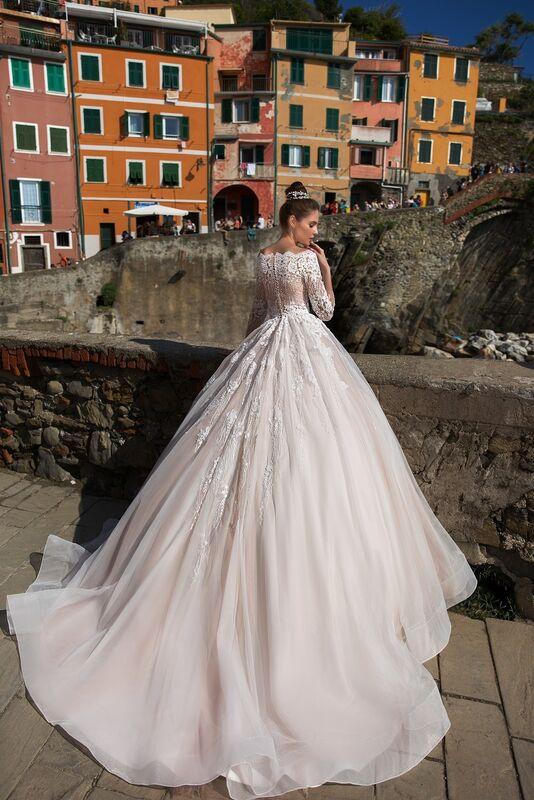 """Свадебное платье напрокат ALIZA свадебное платье """"Gracienne"""" - фото 2"""