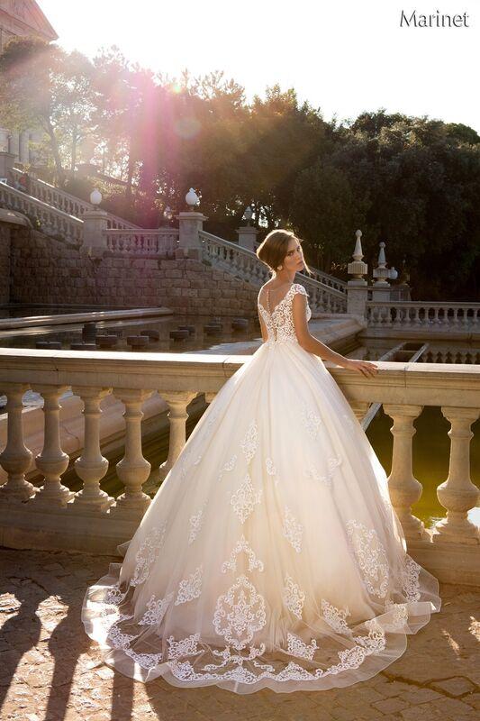Свадебный салон Bonjour Galerie Свадебное платье «Marinet» из коллекции LA POESIE - фото 3