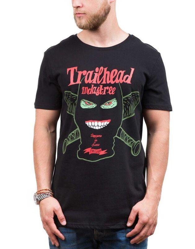 Кофта, рубашка, футболка мужская Trailhead Футболка MTS 414 BK SKU0098000 - фото 1
