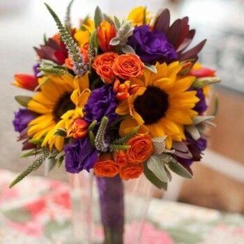 Магазин цветов Ветка сакуры Свадебный букет № 85 - фото 1