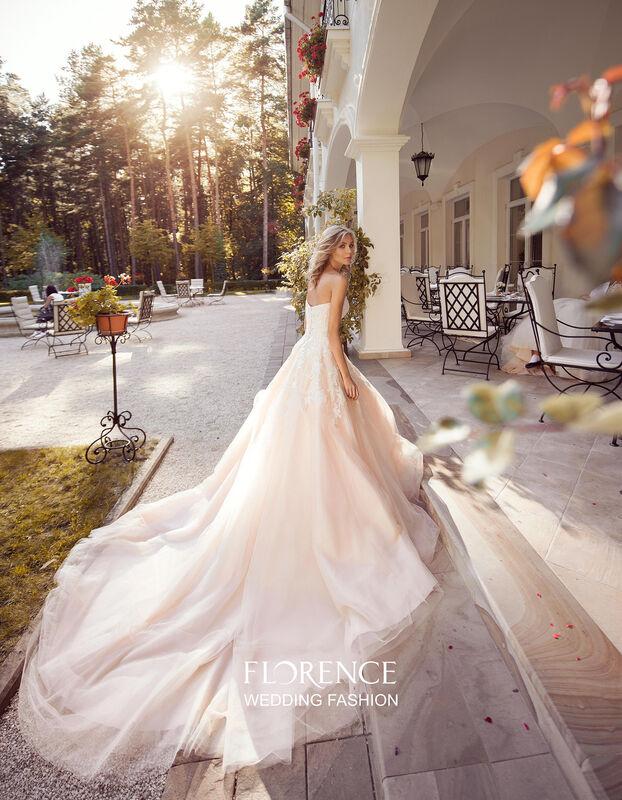 Свадебное платье напрокат Sophia Tolli Платье свадебное 1719 Tavel Florence - фото 3