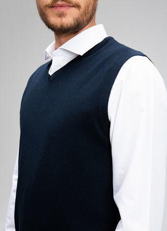 Пиджак, жакет, жилетка мужские O'stin Базовый мужской жилет MK6V43-69 - фото 4