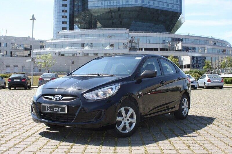 Аренда авто Hyundai Solaris 2013 г.в. - фото 1