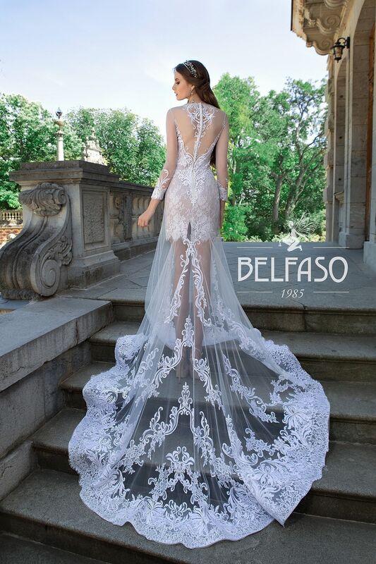 Свадебный салон Belfaso Свадебное платье Rami - фото 5
