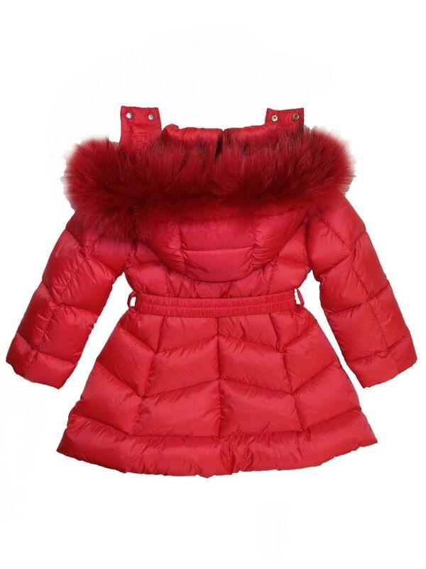 Верхняя одежда детская ADD Пальто для девочки IAG213-0 - фото 4