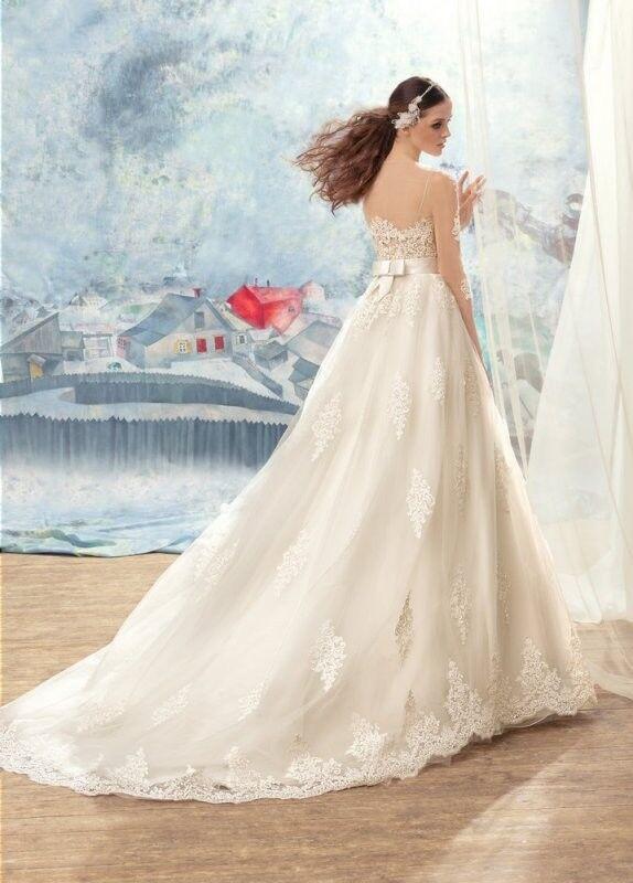Свадебный салон Papilio Свадебное платье «Ара» 1707L, 1707-3 - фото 2