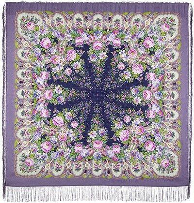 Шарф и платок Павловопосадская мануфактура Платок шерстяной «Лукоморье» - фото 1