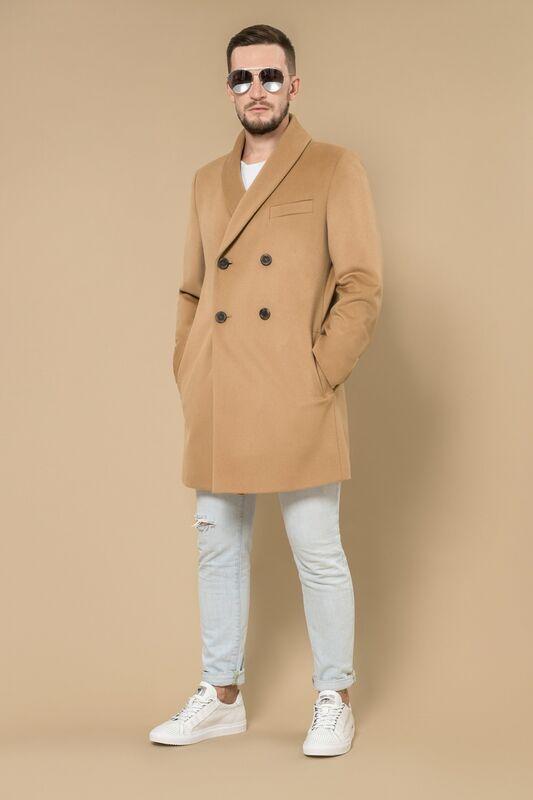 Верхняя одежда мужская Etelier Пальто мужское демисезонное 1М-8607-1 - фото 2