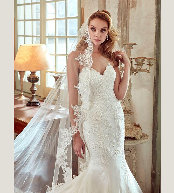 Свадебное платье напрокат Nicole Платье свадебное Bella - фото 3