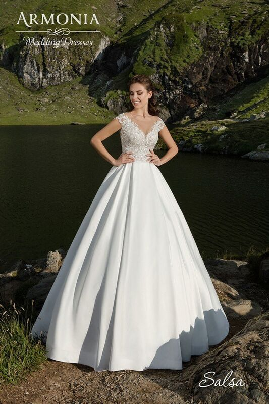 Свадебное платье напрокат Armonia Свадебное платье Salsa - фото 1