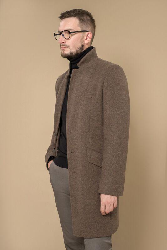Верхняя одежда мужская Etelier Пальто мужское демисезонное 1М-8923-1 - фото 1