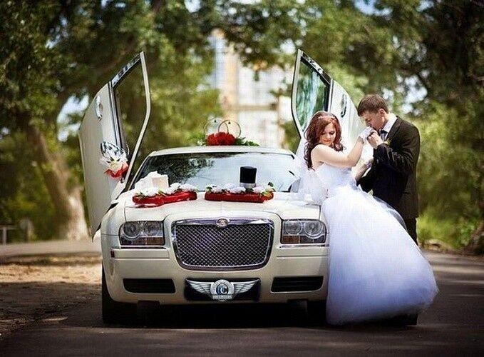Прокат авто Chrysler 300C белого цвета, 10 мест - фото 7
