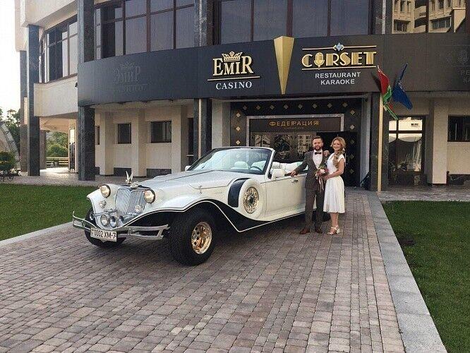 Прокат авто Excalibur Белый - фото 5
