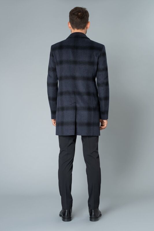 Верхняя одежда мужская Etelier Пальто мужское демисезонное 1М-90161-1 - фото 3