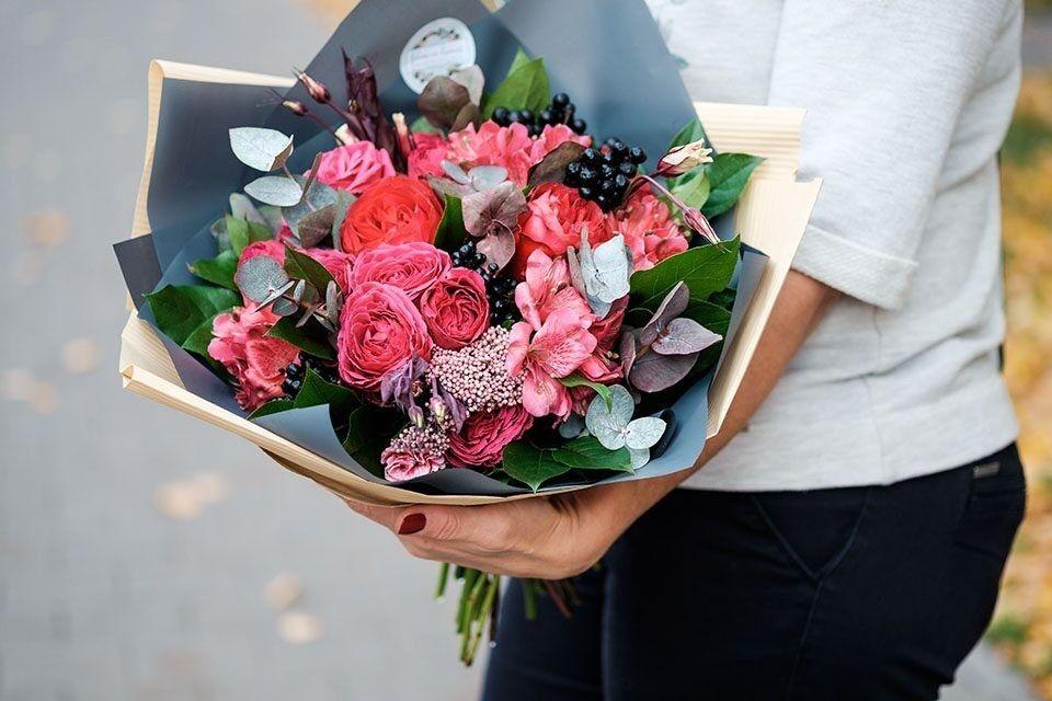 Магазин цветов Цветы на Киселева Букет «Ягодный сезон» - фото 1