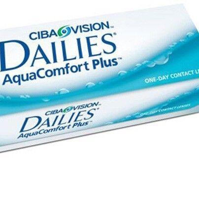Линзы CIBA Vision Контактные линзы Dailies Aqua Comfort Plus c - фото 1