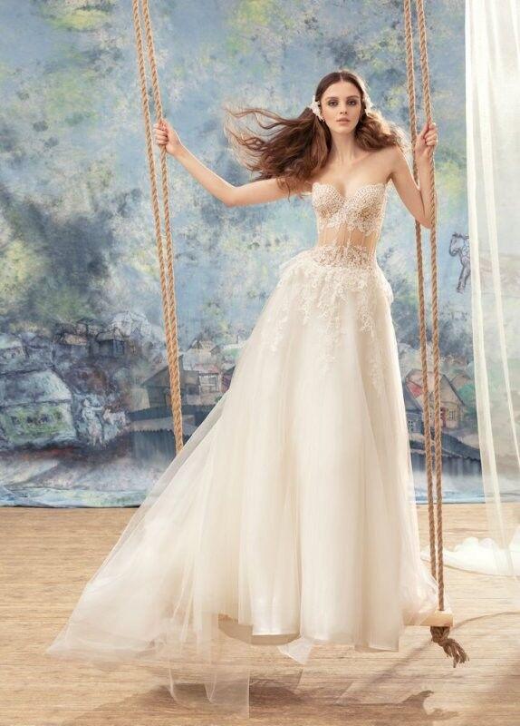 Свадебный салон Papilio Свадебное платье «Мизомела» 1737L - фото 1