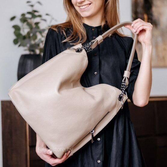 Магазин сумок Vezze Кожаная женская сумка  C00472 - фото 1
