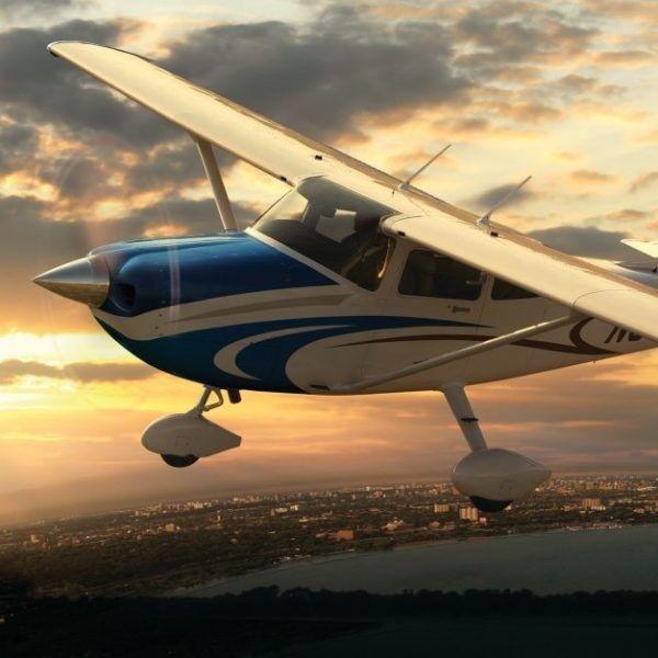 Магазин подарочных сертификатов NAVZLET Обзорный полет на самолете групповой, 15 минут - фото 1