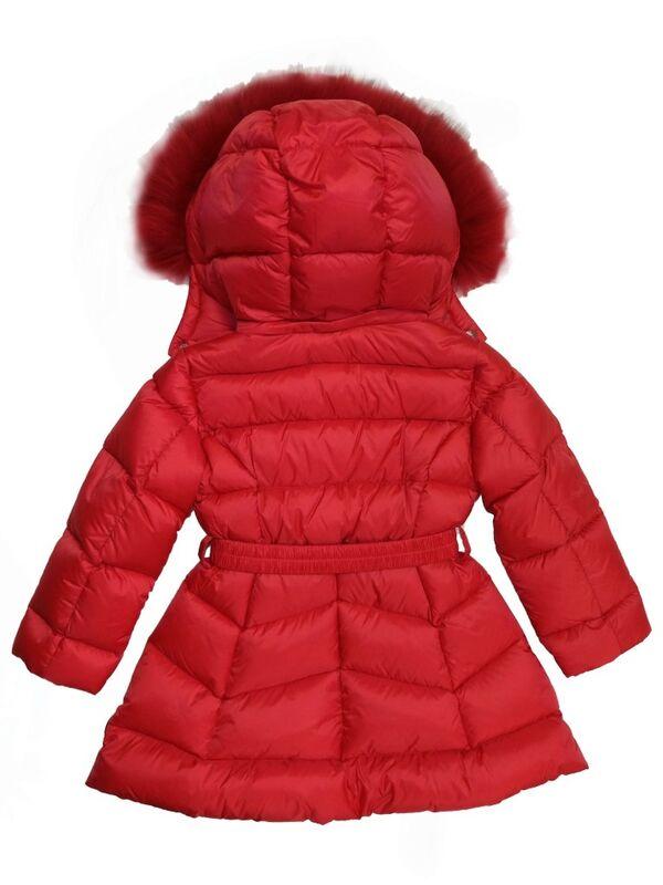 Верхняя одежда детская ADD Пальто для девочки IAG213-0 - фото 3