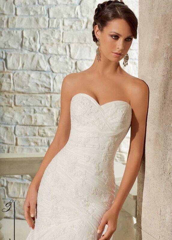 Свадебное платье напрокат Mori Lee Платье свадебное 5309 - фото 3