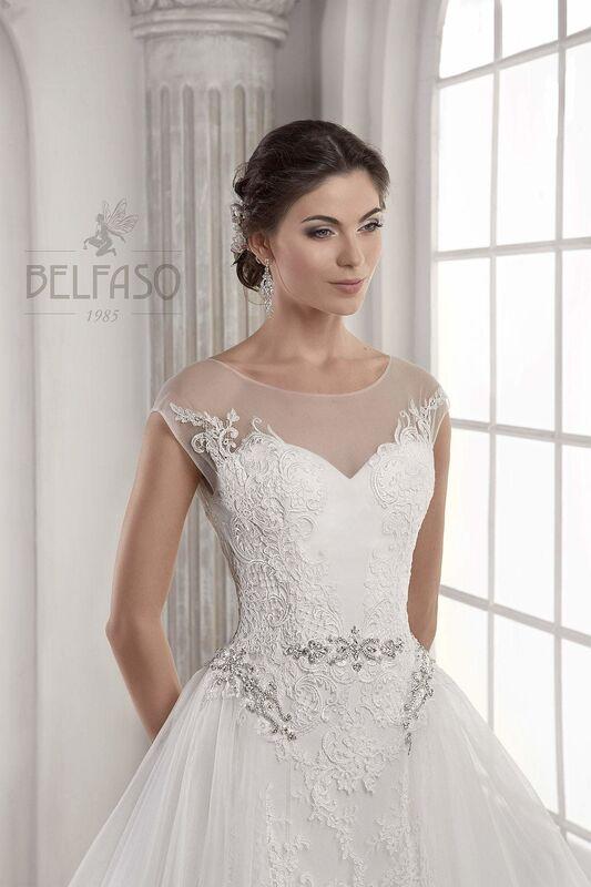 Свадебное платье напрокат Belfaso Платье свадебное Doroti - фото 6