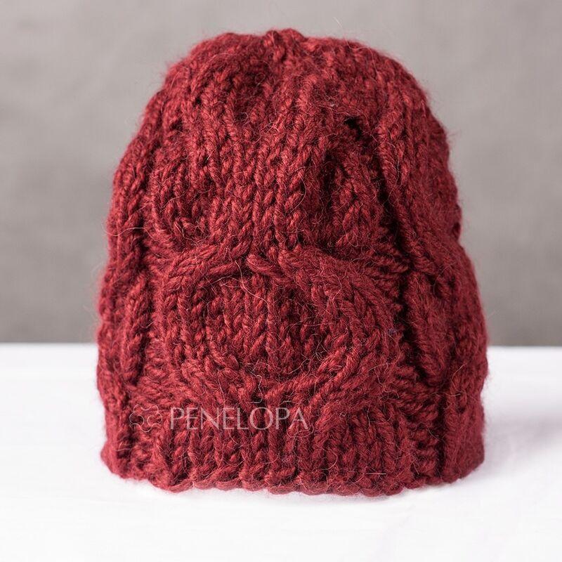Головной убор PENELOPA Шапка с косами M105 - фото 1