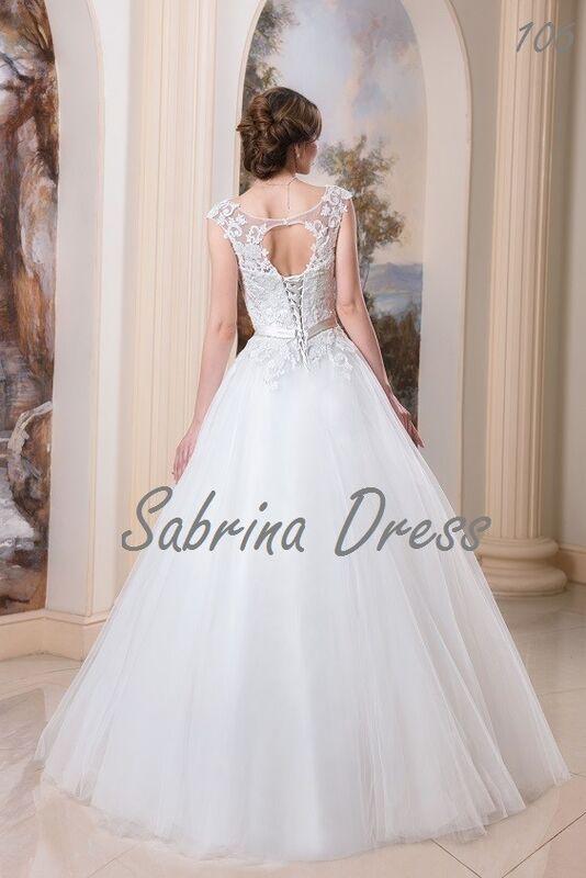 Свадебный салон Sabrina Dress Свадебное платье 106 - фото 2