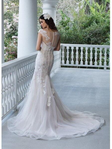 Свадебное платье напрокат Sinserity Свадебное платье 3842 - фото 5