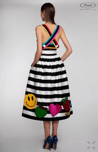 Платье женское Pintel™ Комплект из топа-бюстье и юбки Claire - фото 4