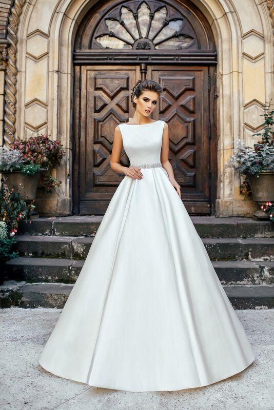 Свадебное платье напрокат Nicole Платье свадебное Selena - фото 1