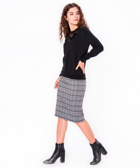 Кофта, блузка, футболка женская SAVAGE Джемпер женский арт. 910820 - фото 3