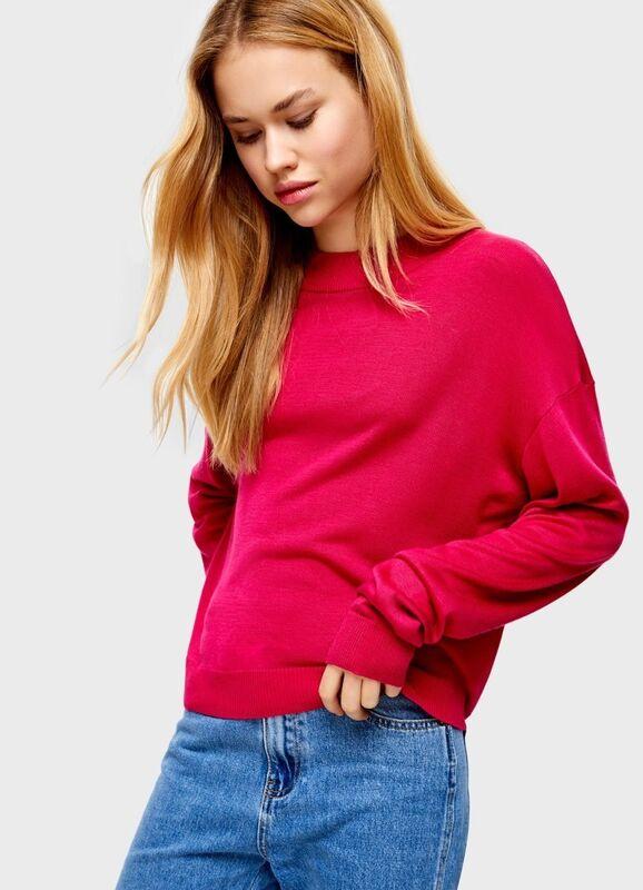 Кофта, блузка, футболка женская O'stin Объёмный джемпер LK7U31-X5 - фото 1