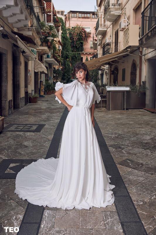 Свадебный салон Bonjour Galerie Платье свадебное TEO из коллекции BELLA SICILIA - фото 2