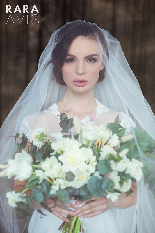 Свадебный аксессуар Rara Avis Фата №14 - фото 6