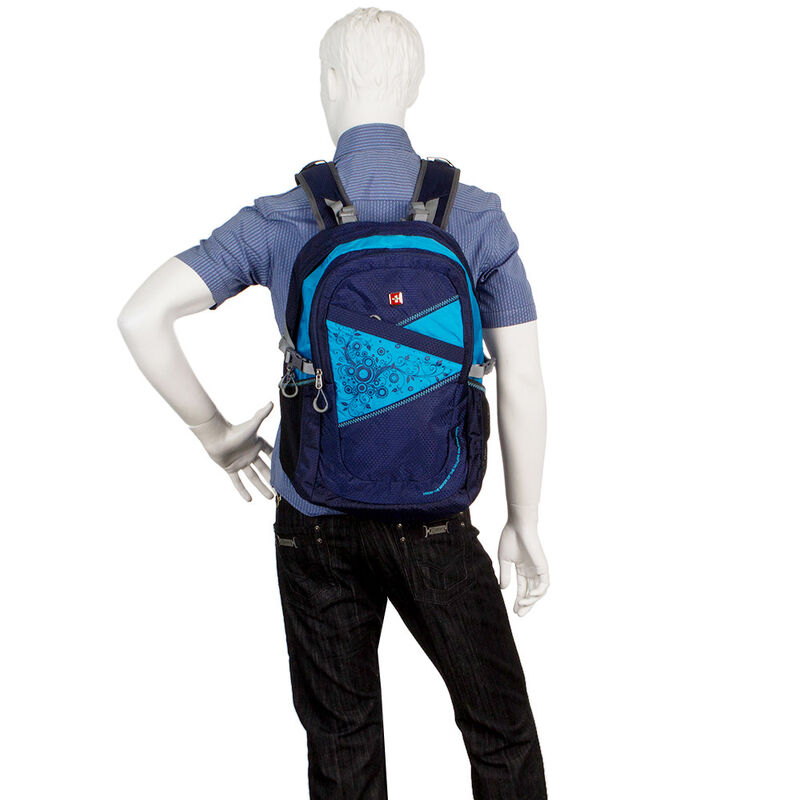 Магазин сумок SwissGear Рюкзак универсальный синий 205-15031 - фото 4