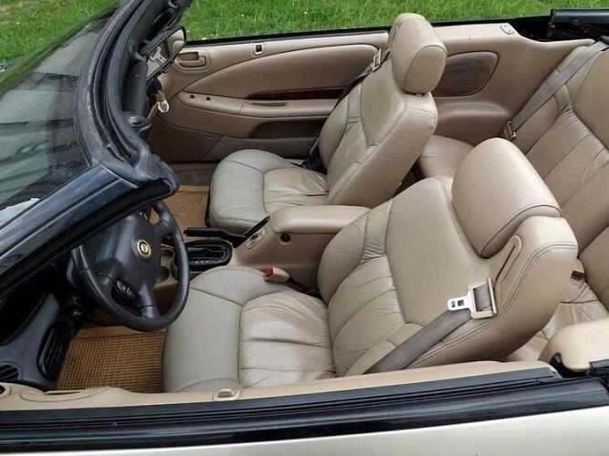 Прокат авто Chrysler Sebring золотистого цвета - фото 5