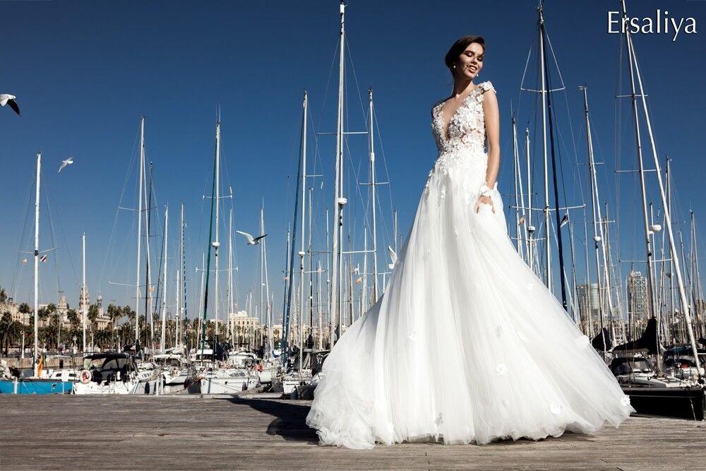 Свадебное платье напрокат Bonjour Платье свадебное «Ersaliya» из коллекции LA POESIE 2017 - фото 3