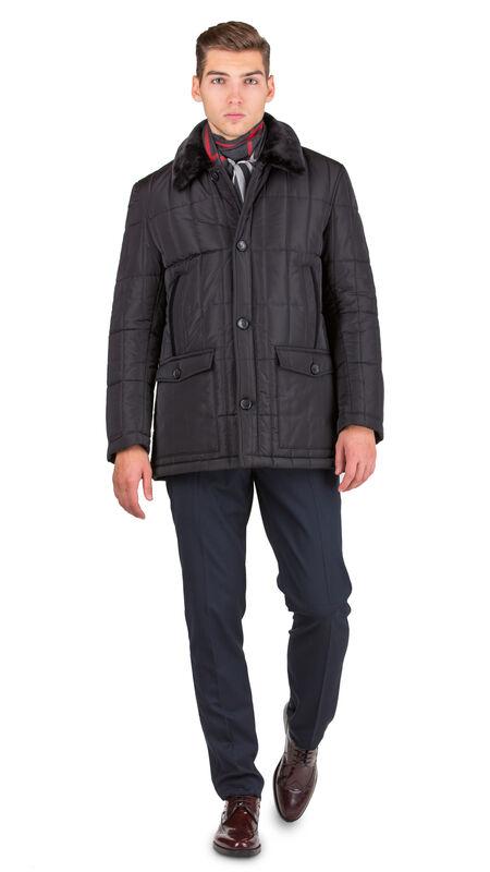 Верхняя одежда мужская HISTORIA Куртка утепленная черная WJ.B.Cri004 - фото 1