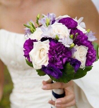 Магазин цветов Ветка сакуры Свадебный букет № 4 - фото 1