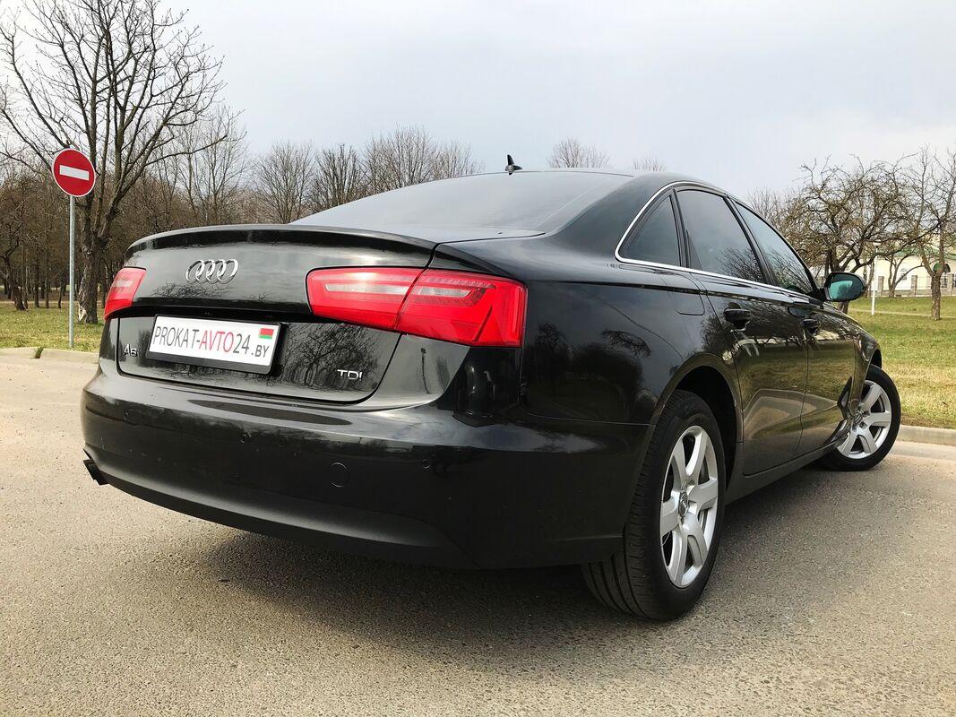 Прокат авто Audi A6 2014 черный - фото 4