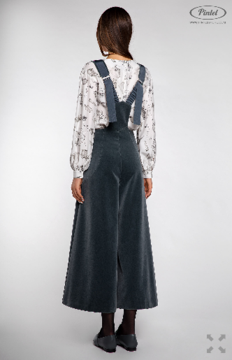 Брюки женские Pintel™ Комплект из блузы и комбинезона Lititso - фото 5
