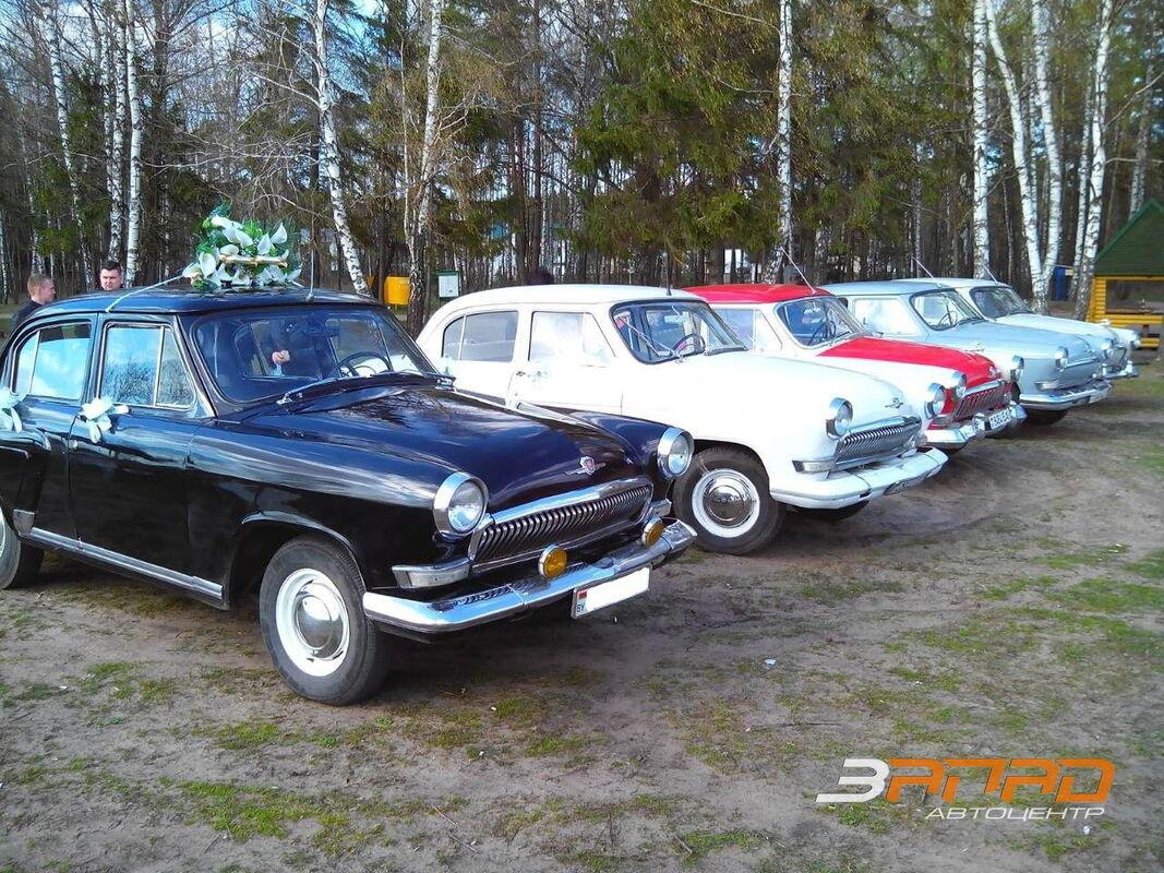Прокат авто ГАЗ Волга Ретро - фото 1