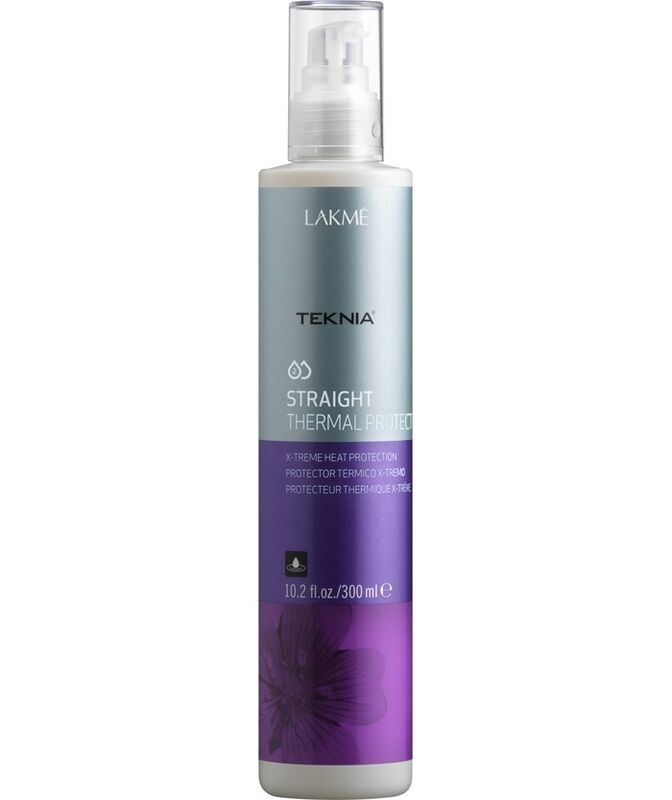 Уход за волосами Lakme Термозащитный спрей для выпрямления волос утюжком Teknia Straight Thermal Protector 300 мл - фото 1