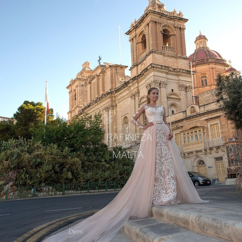 Свадебное платье напрокат Rafineza Платье свадебное Demi напрокат - фото 1