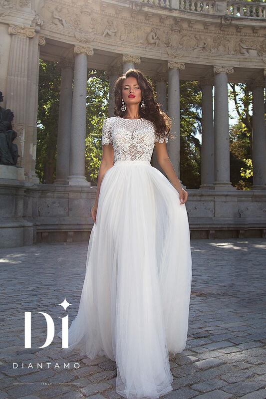 Свадебное платье напрокат Diantamo Платье свадебное Alessandra - фото 1