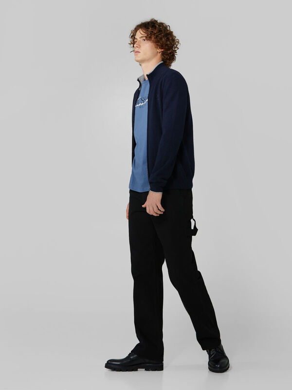 Кофта, рубашка, футболка мужская Trussardi Футболка мужская 52T00383-1T003076 - фото 3