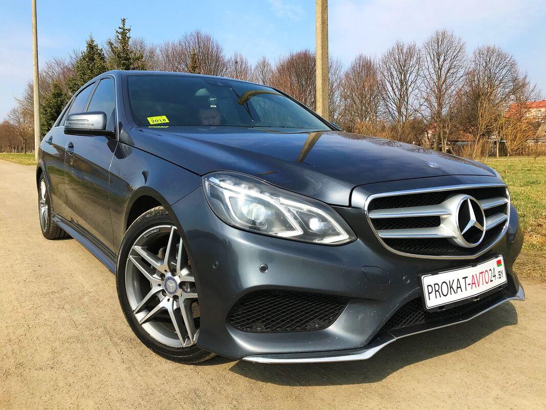 Прокат авто Mercedes-Benz E250D 4matic 2015 г.в. - фото 3