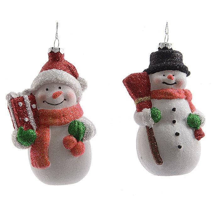 Елка и украшение mb déco Елочная игрушка «Снеговик» с повышенной ударостойкостью - фото 1