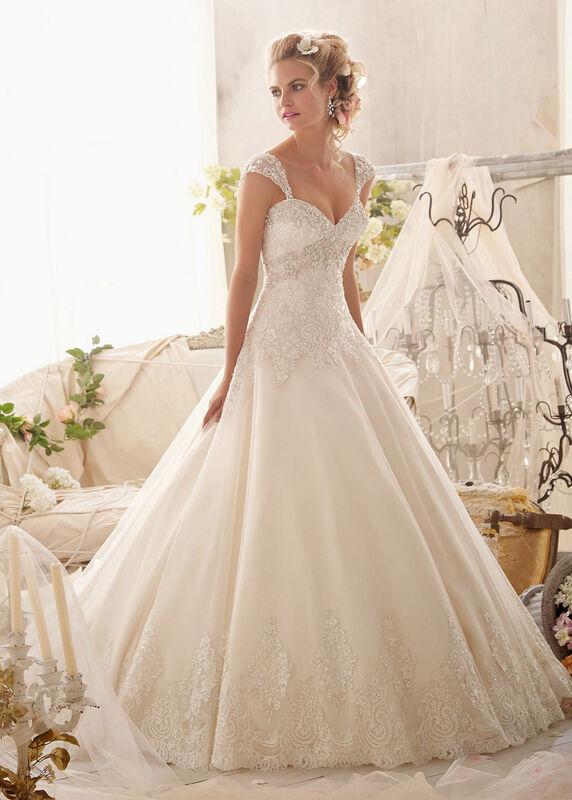 Свадебное платье напрокат Mori Lee Платье свадебное 2609 - фото 1